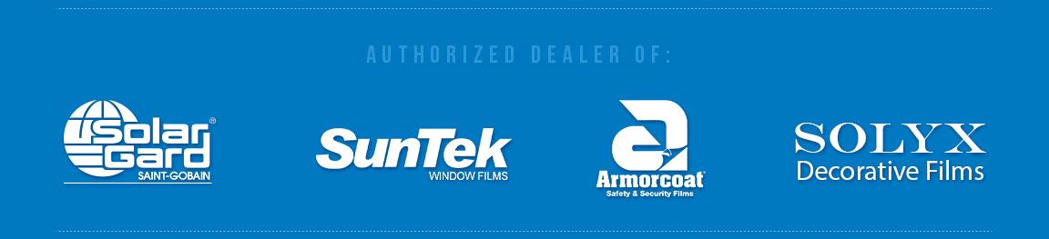 solar gard, suntek, armorcoat, solyx, safety films, security film, window films, decorative films, Arizona tinting company