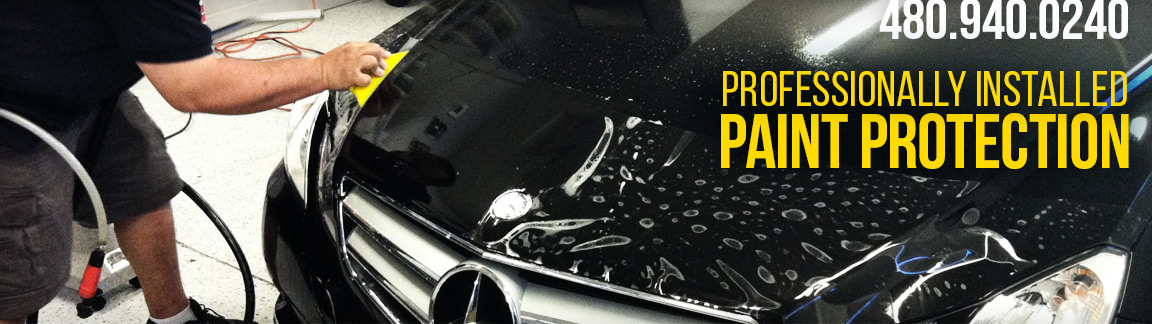 480-940-0240, professionally installed paint protection, clearshield pro installation