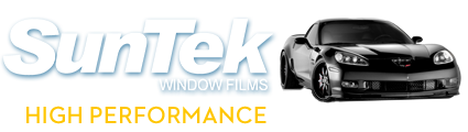 SunTek window films, high performance auto films
