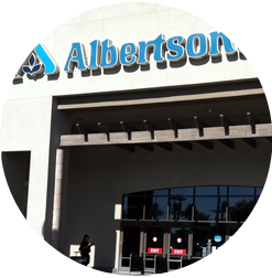 Albertson's store window tinting service